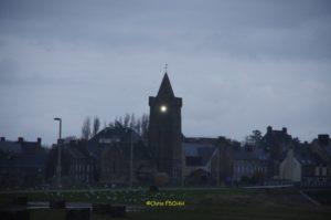 Lumière de Portbail, un matin d'hiver
