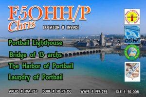 Portbail, FFF phare et pont