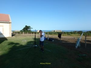 Installation de l'antenne de Dyd