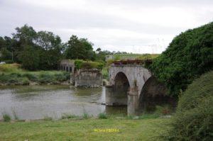 Pont de La Roque détruit en 1944