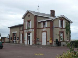 L'ancienne gare de Regnéville-sur-Mer