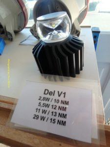 Variété de DEL présentent dans les phares