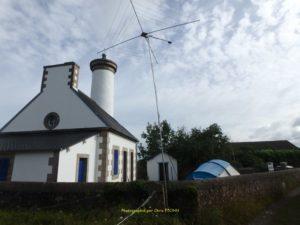 Vue du site du phare de Ker-Prigent