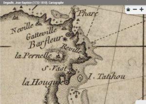 Carte de 1774 de Jean-Baptiste De gaulle