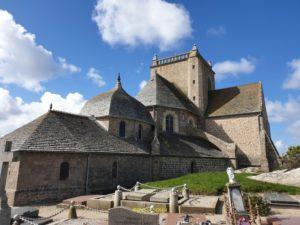 Eglise Saint Nicolas vue du cimetière