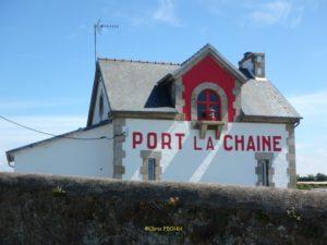 Feu du port de La Chaine