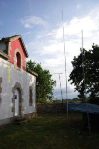 Vertical Comet, VHF et UHF à Saint Antoine