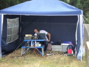Didier (F4ELJ) peaufine la station
