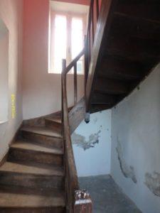 Escalier d'accès du phare St Antoine